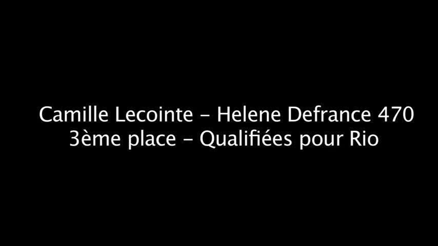 Camille Lecointre & Hélène Defrance - SWC Hyères 2016