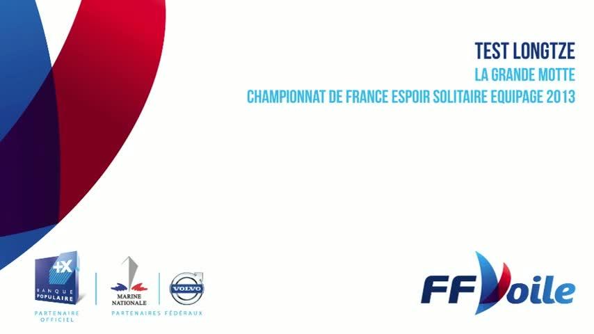 CF Espoir Solitaire Equipage 2013 - Test Longtze