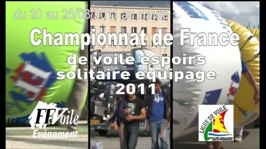 Championnat de France Espoirs Solitaire Equipage - Remise des prix