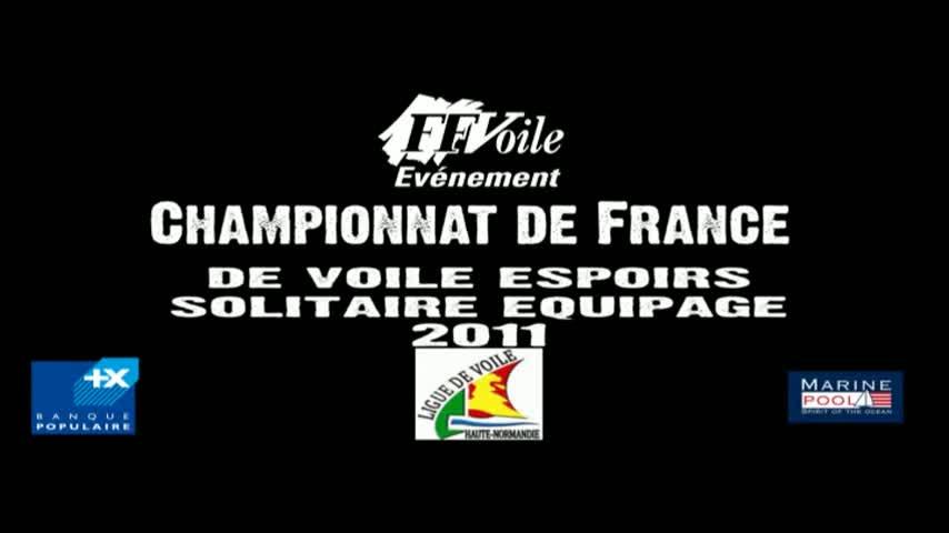 Championnat de France Espoirs Solitaire Equipage - Ceremonie douveture