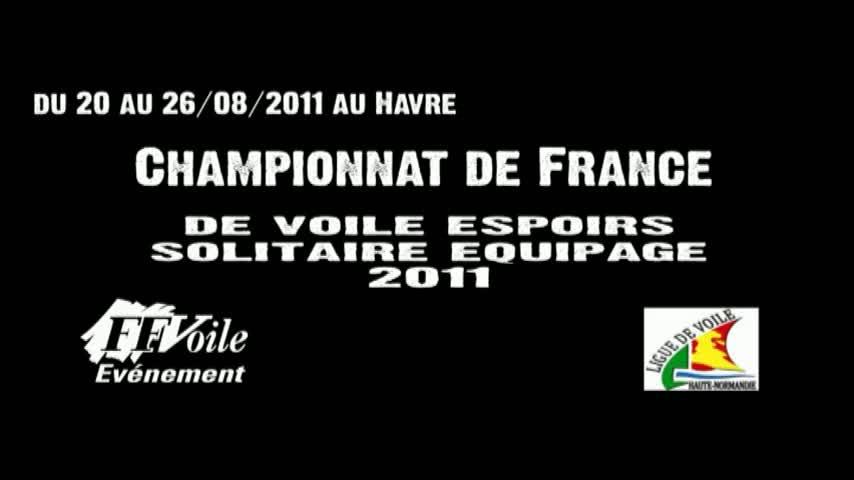 Championnat de France Espoirs Solitaire Equipage - Itw Francis Le Goff