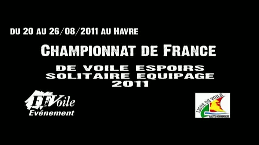 Championnat de France Espoirs Solitaire Equipage - Lundi matin