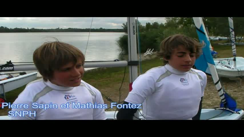 championnat de france minimes flotte collective 2011   itw laser fe05bf