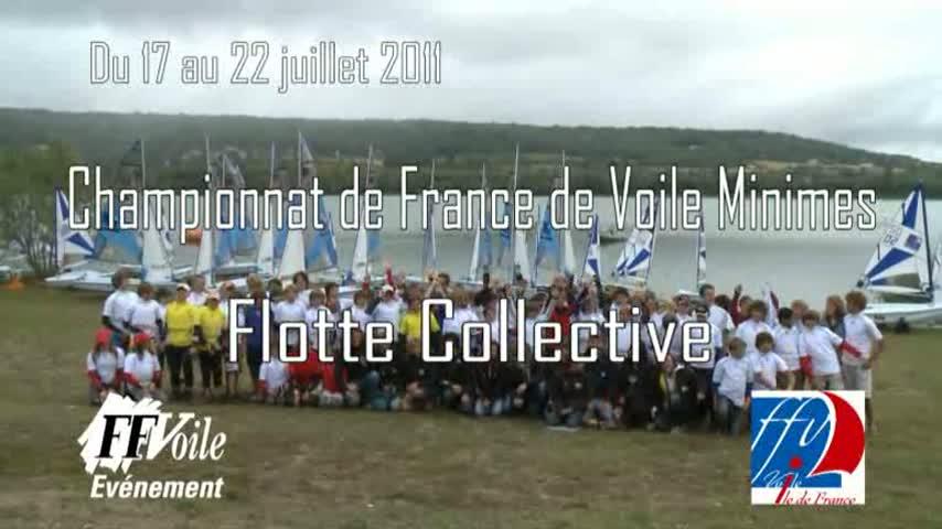 Championnat de France Minimes Flotte Collective 2011 - Table ronde R