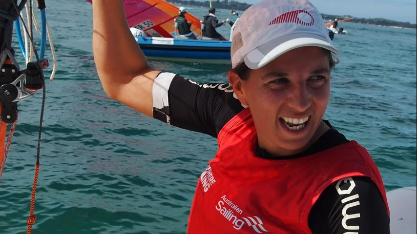Charline Picon, vice championne du monde 2020. Interview GB