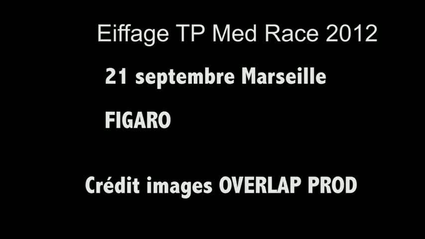 CUT TV Eiffage TP Med Race Figaro 21/09/12