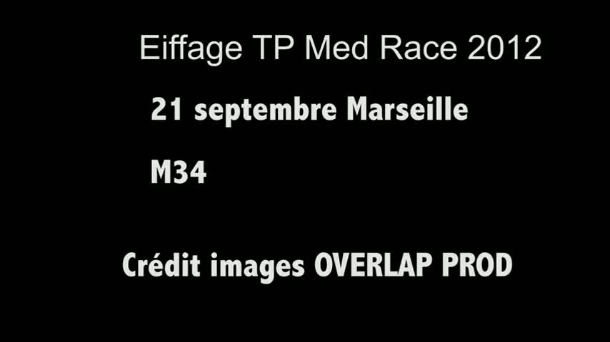 CUT TV Eiffage TP Med Race M34 21/09/12