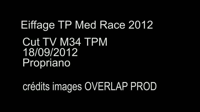 CUT TV Eiffage TP Med Race M34 TPM