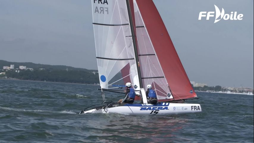De l'or, de l'argent et du bronze pour la France aux Youth Sailing World Championships 2019 !