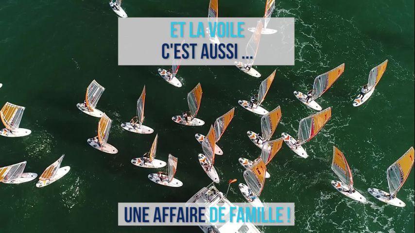 Des futurs grands noms de la voile Française présents sur le CF Espoirs Glisse 2019