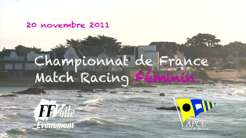 CF Match Racing Feminin 2011 - Briefing du dimanche