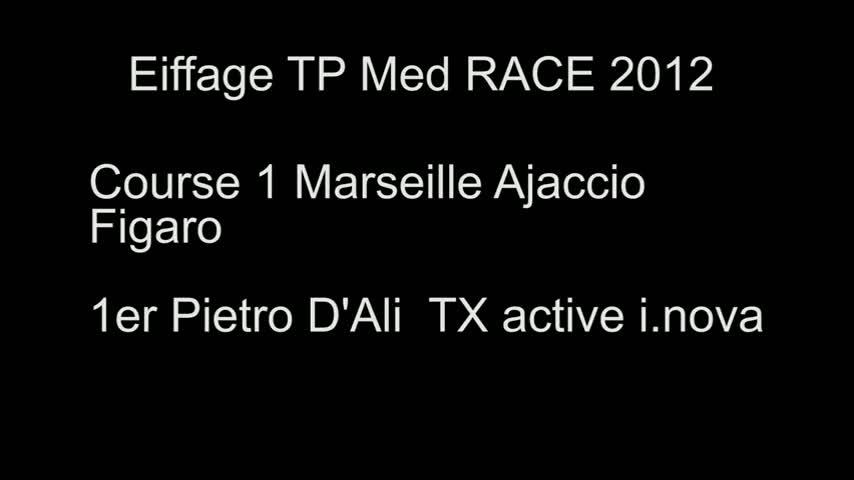 TP Med RACE arrivée de Pietro d'Ali 1er