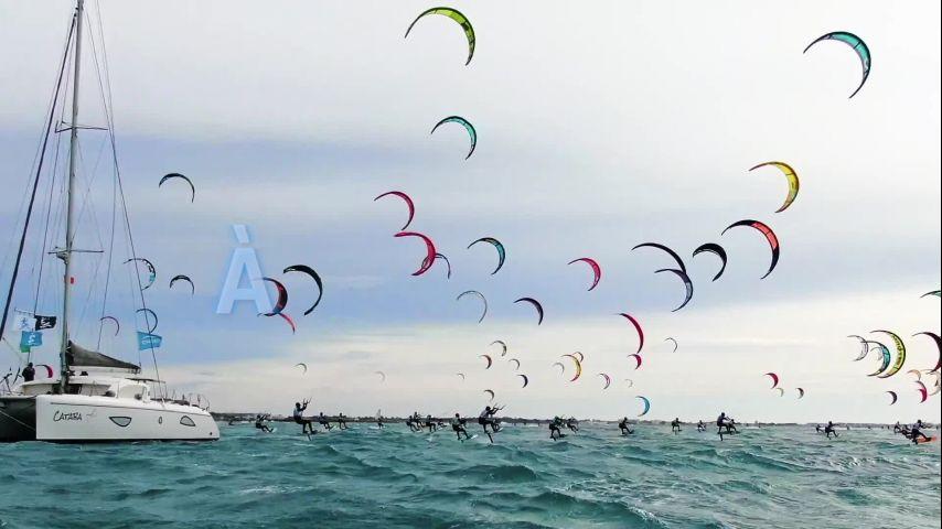 En 2021, l'Engie Kite Tour revient avec 5 étapes !