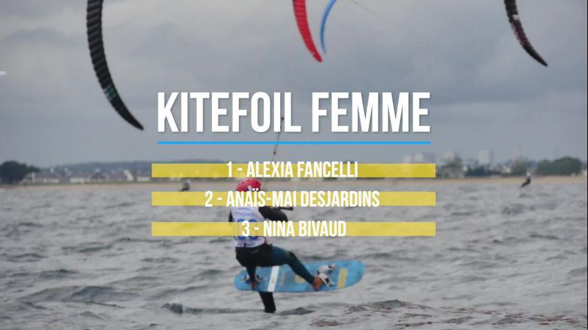 ENGIE Kite Tour 2021 - Récap Sportif 1ere étape lorient-Gâvres