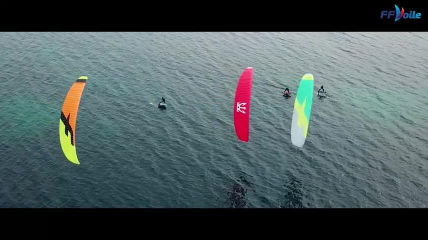 Equipe de France de Kiteboard Foil 2018