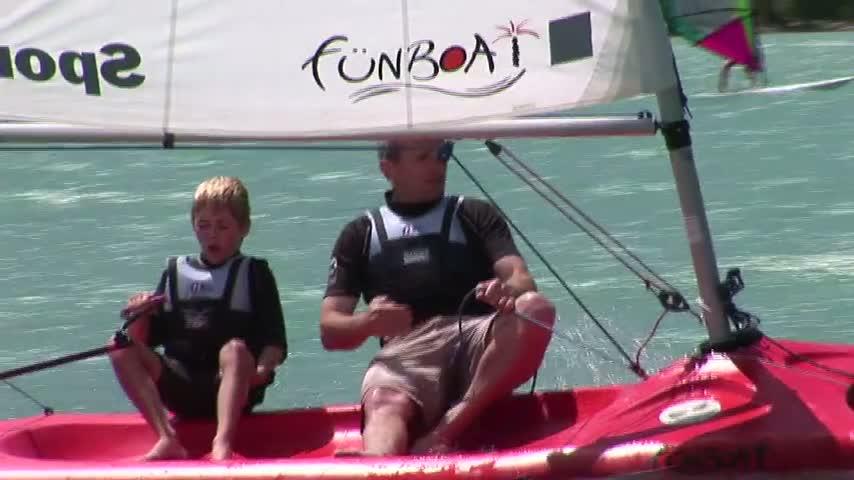 EFVoile : Le Fun Boat