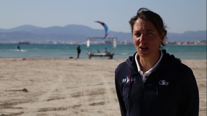 Interview Charline Picon, 3e du championnat europe RS:X 2019