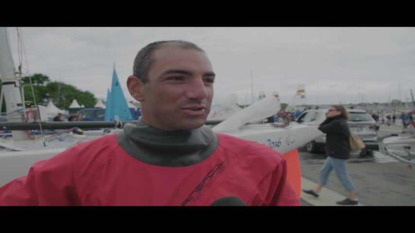 ITW de Damien Seguin aux Championnats du Monde 2017