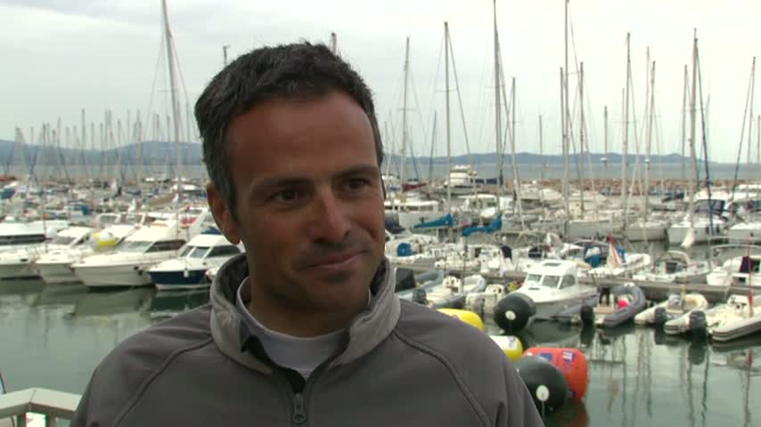 ITW Franck Cammas - SWC Hyeres