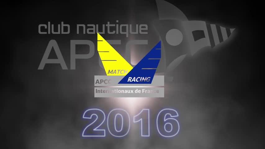 Journée d'entraînement Internationaux de France de Match Racing 2016