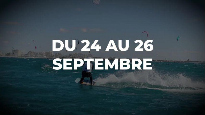 L'Engie Kite Tour de retour à La Grande-Motte du 24 au 26 septembre !