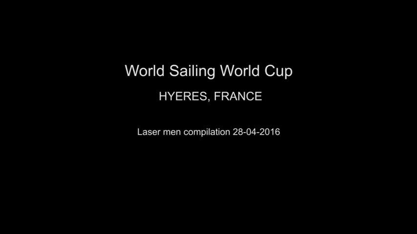 Laser Men - SWC Hyères 2016