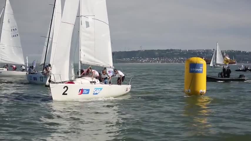 le CVSAE remporte la Ligue Nationale de Voile 2017