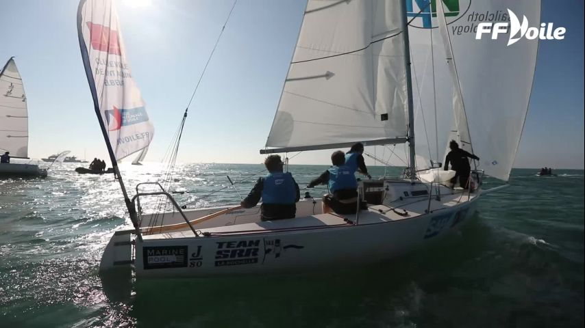 Le CVSAE remporte la Ligue Nationale de Voile 2018