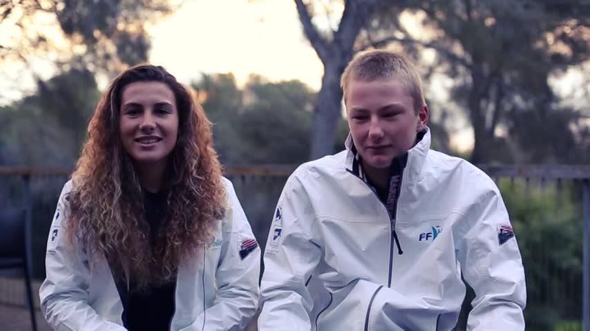 Louise Cervera et Alexandre Boite Laser radial