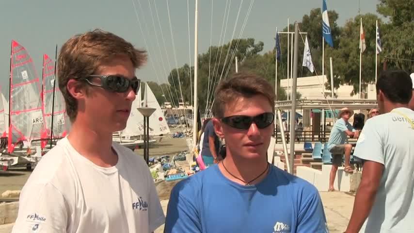 Lucas Rual et Emile Amoros champions du monde de 29er