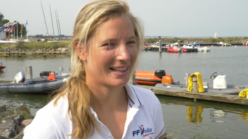 Mathilde de Kerangat 4ème au championnat du Monde de Laser Radial 2017