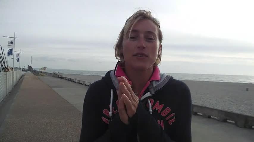 Mathilde Geron encourage les paralympiques