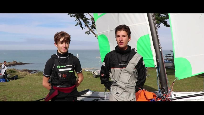 Open France Catamaran 2020 : Quel plaisir de retrouver l'ambiance d'un Championnat de France Jeunes