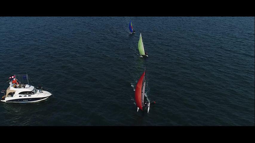 Open France Catamaran 2020 : Une belle première à Quiberon !