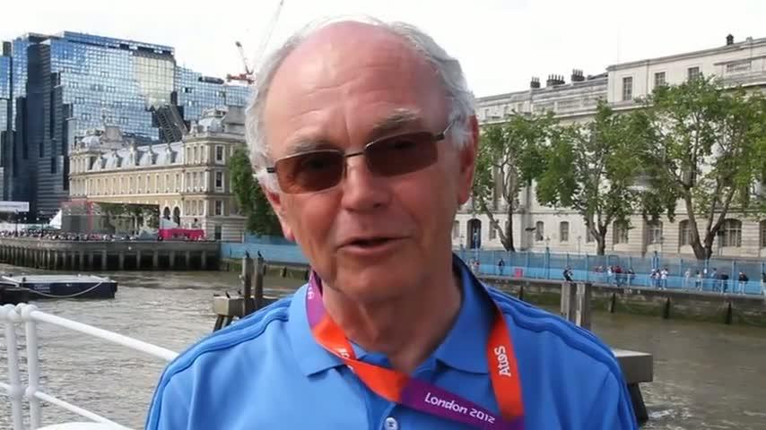 Réaction de Jean-Pierre Champion à la médaille de bronze de Jonat