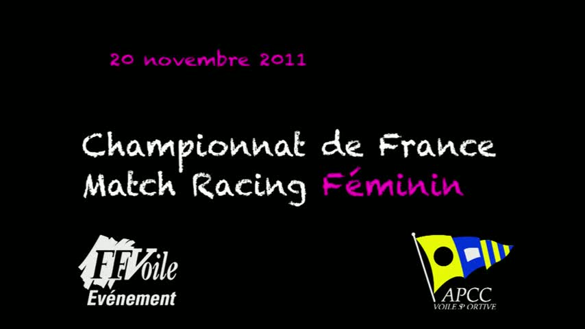 CF Match Racing Feminin 2011 - Remise des Prix