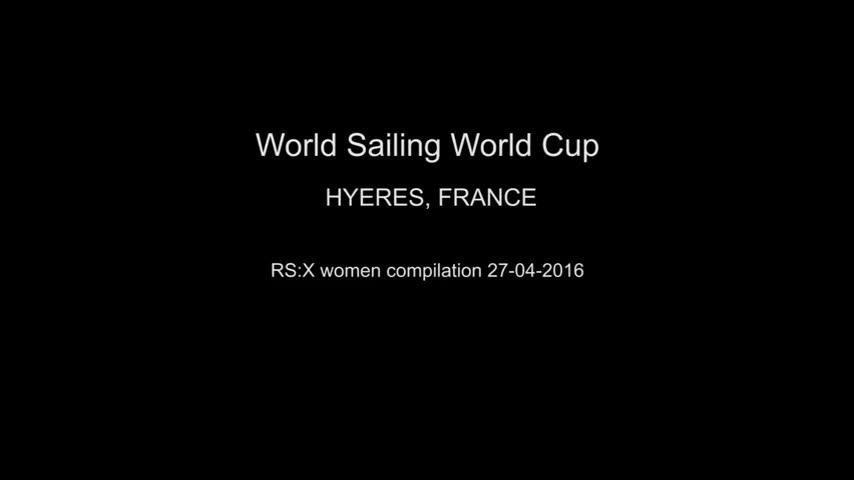 RS:X Women - SWC Hyères 2016