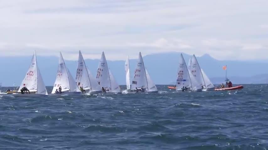 Rush Medal Races & Remise des prix - Championnats du Monde Jeunes 470 2017