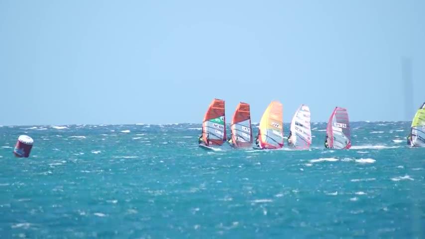 Rush images slalom - PWA Nouméa 2015