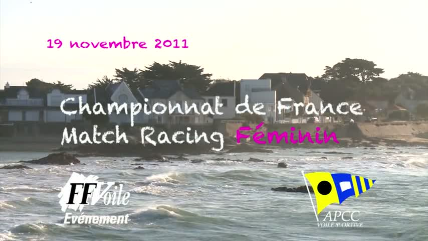CF Match Racing Feminin 2011 - ITW Anne-Claire Le Berre