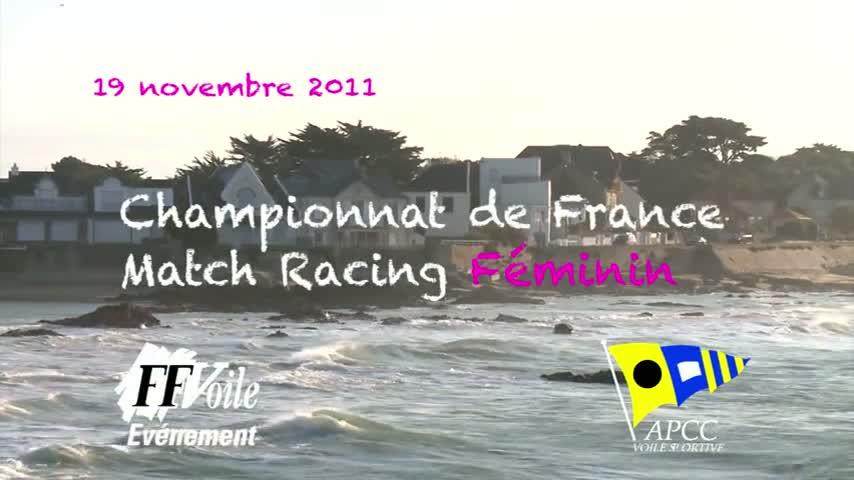 CF Match Racing Feminin 2011 - ITW Anne Le Helley