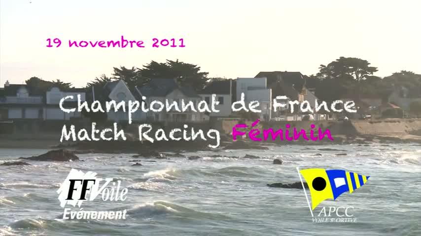 CF Match Racing Feminin 2011 - ITW Julie Bossard