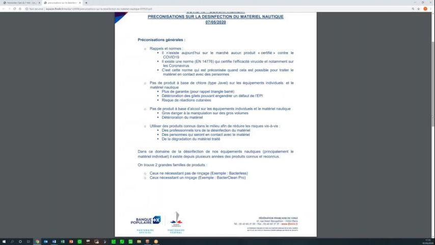 Seminaire CTS 20200507 - Deconfinement et preconisations pour la desinfection du matériel