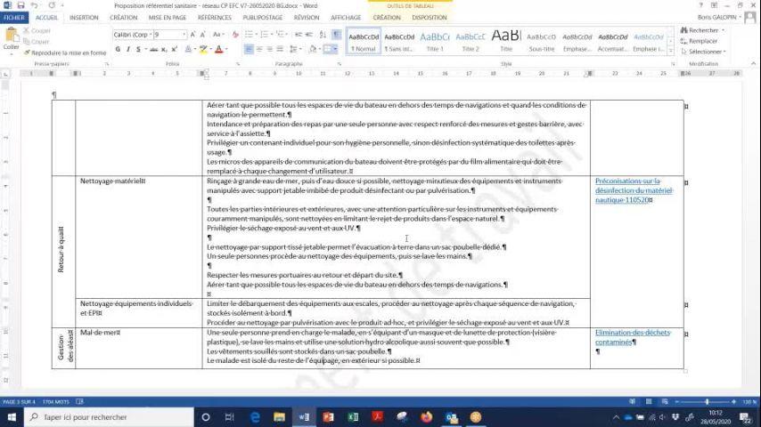 Seminaire CTS 20200528 - plan déconfinement activités encadrées plaisance