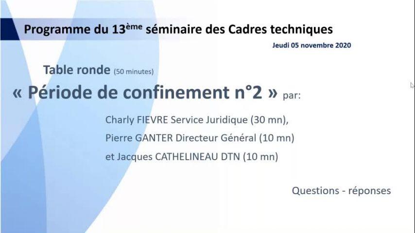 Seminaire CTS 20201105 - Point Confinement 2