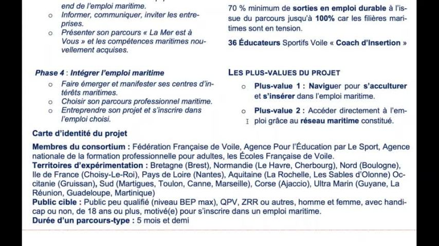 Seminaire CTS 20201105 - Point La Mer est à vous