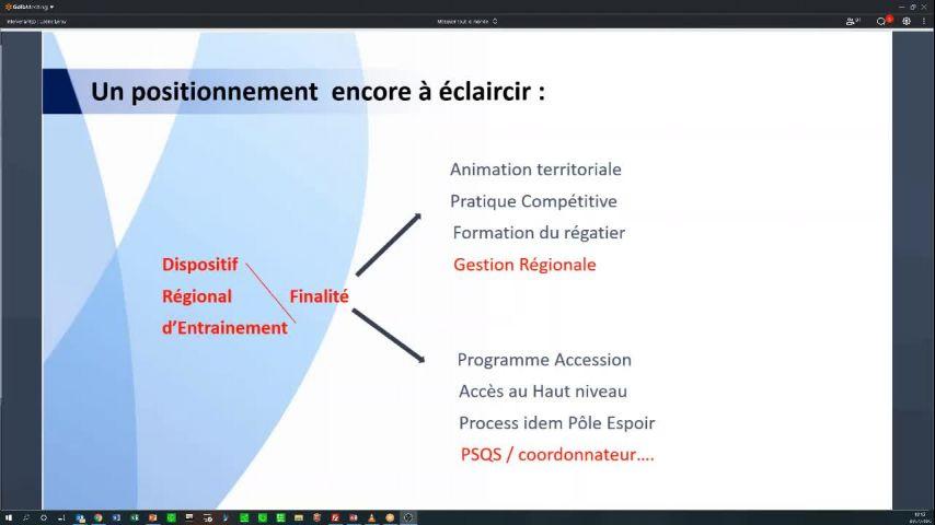 Seminaire CTS 20203004 - Intervention sur les DRE