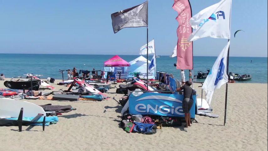 Teaser de la dernière étape du Engie Kite Tour 2019 à La Grande Motte
