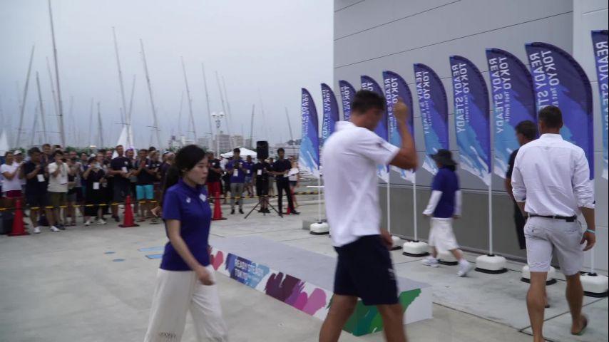 Test Event Enoshima 2019 - victoire Camille Lecointre et Aloise Retornaz 470 F