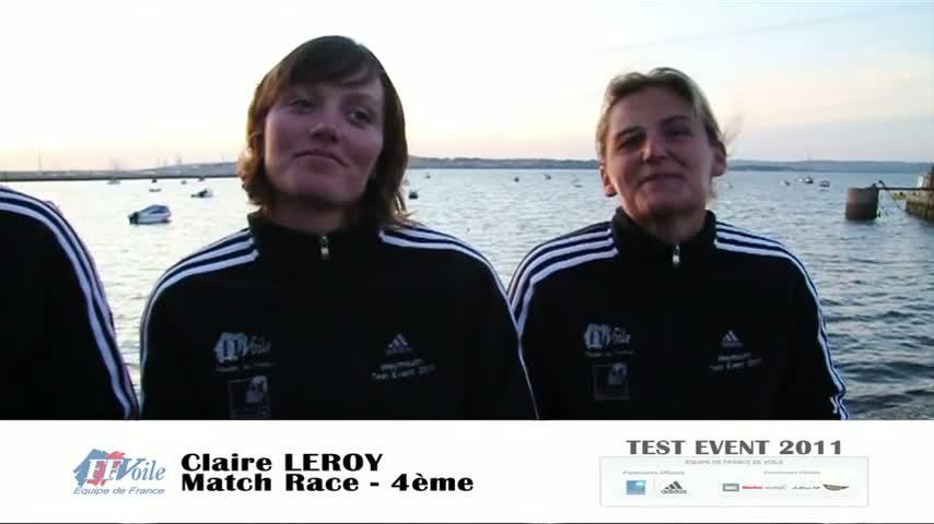 test event 2011 ITV match race